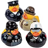 Law Enforcement Rubber Duckies | for Police Party Decorations, Police Dress Up, Cops and Robbers Role Play | Police Appreciat