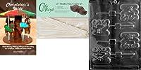 Cybrtrayd ' Kiss Lolly ' Valentineチョコレート型254.5-inch Lollipop Sticks and Chocolatierのガイド