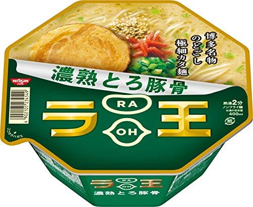 8位 日清食品『日清ラ王 濃熟とろ豚骨』