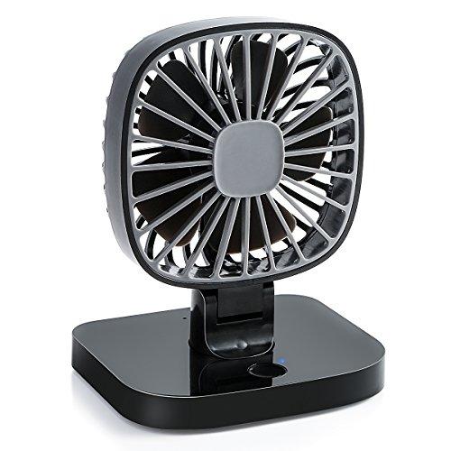 SOONHUA 扇風機 車載ファン USB扇風機 静音 冷却...