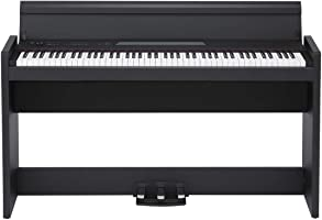 KORG 電子ピアノ LP-380-BK 88鍵 ブラック ヘッドホン付属