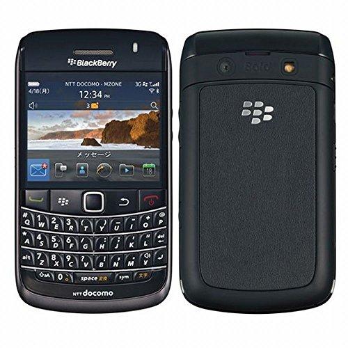 BlackBerry Bold 9780 docomo (Black)