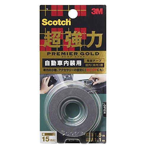 3M スコッチ 超強力両面テープ プレミアゴールド 自動...