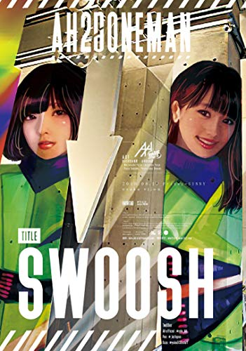 "AH(嗚呼) ONE MAN LIVE ""SWOOSH"" at Osaka Club vijon [DVD]"