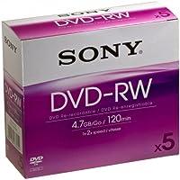 SONY DVDRW 4.7GB JC PK5 5DMW47A