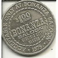 Bonanzaカジノトークンコイン1ドルVirginia City Nevada Obsolete