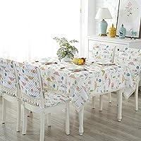 QY テーブルクロス テーブルクロス 矩形 コットンとリネン 洗える テーブルクロス レース ダストカバー 結婚式 パーティー ダイニングテーブル デコレーション QY テーブルクロス (Color : T6, Size : 100*160cm)
