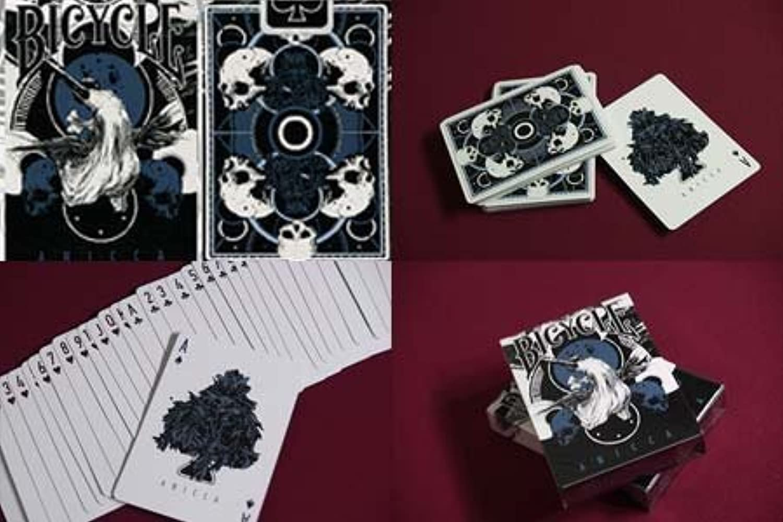 Anicca Deck (Metallic Blue) by Card Experiment - Trick [並行輸入品]