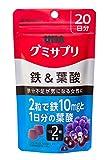 グミサプリ 鉄&葉酸 20日分