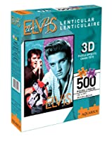 Puzzle - Elvis Presley - (500 pcs) Lenticular 3D Jigsaw Licensed Gifts Toys 60104