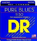 DR エレキ弦 PURE BLUES ニッケル .009-.042 PHR-9 3SET パック
