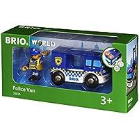 BRIO WORLD ライト&サウンド付ポリストラック 33825