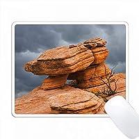 アメリカ、ユタ州、ディキシー国立森林。 Yant Flatsの砂岩の形成 PC Mouse Pad パソコン マウスパッド