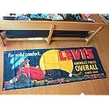 LEVI'S/リーバイス 特大 デニム生地 Banner/バナー/Vintage ヴィンテージ 看板