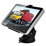 """cnmodle 7""""車トラックGPSナビゲーション+ワイヤレスバックミラーカメラBluetooth 4GB USマップ"""