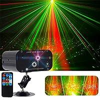48パターンディスコライトステージ電球パーティーDJライトボールKTVプロジェクター照明効果バークラブ結婚式の音
