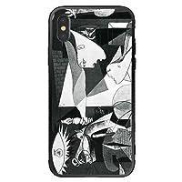 cronos iPhone8 iPhone7 背面ガラスケース ジャケット型スマホカバー ケース ゲルニカ Guernica ピカソ 画家 art0008 受注生産