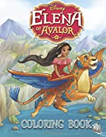 Elena of Avalor Coloring Book: 22 Exclusive Illustrations