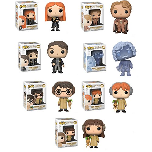 Pop HP – Harry Potter ( Herbology ), Ron Weasley ( Herbology、Hermione Granger ( Herbology ), Ginny Weasley、Tom Riddle ( Young Lord Voldemort、ギルデロイ・ロックハート、ほぼHeadlessニック・Vinyl Figures Set