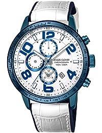 [エンジェルクローバー]Angel Clover 腕時計 LUCE ホワイト文字盤 クロノグラフ LU44BNV-WH メンズ