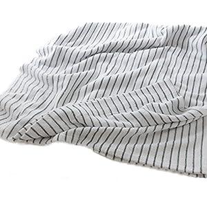 モフア タオルケット シングル ほつれにくくやわらか仕様 綿 100% グリーン mofua 55370123
