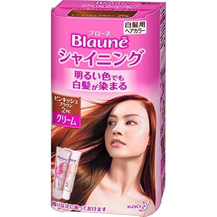 多様な三角提案する花王 ブローネ シャイニングヘアカラー クリーム 2PK 1剤50g/2剤50g(医薬部外品)《各50g》