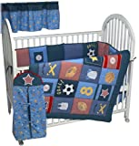 All Stars 6 Piece Crib Bedding Set by Lambs & Ivy