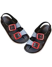 MyMei サンダル ビーチサンダル ファッションサンダル ベビー 子供 ガールズ ボーイズ カジュアル フラット 室内 アウトドア 通学 耐久性 防滑 脱着簡単