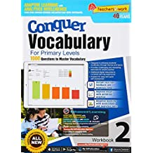 Conquer Vocabulary Workbook 2 for Primary Levels + Nuadu