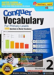 Conquer Vocabulary Workbook 2 for Primary Levels + Nuadu