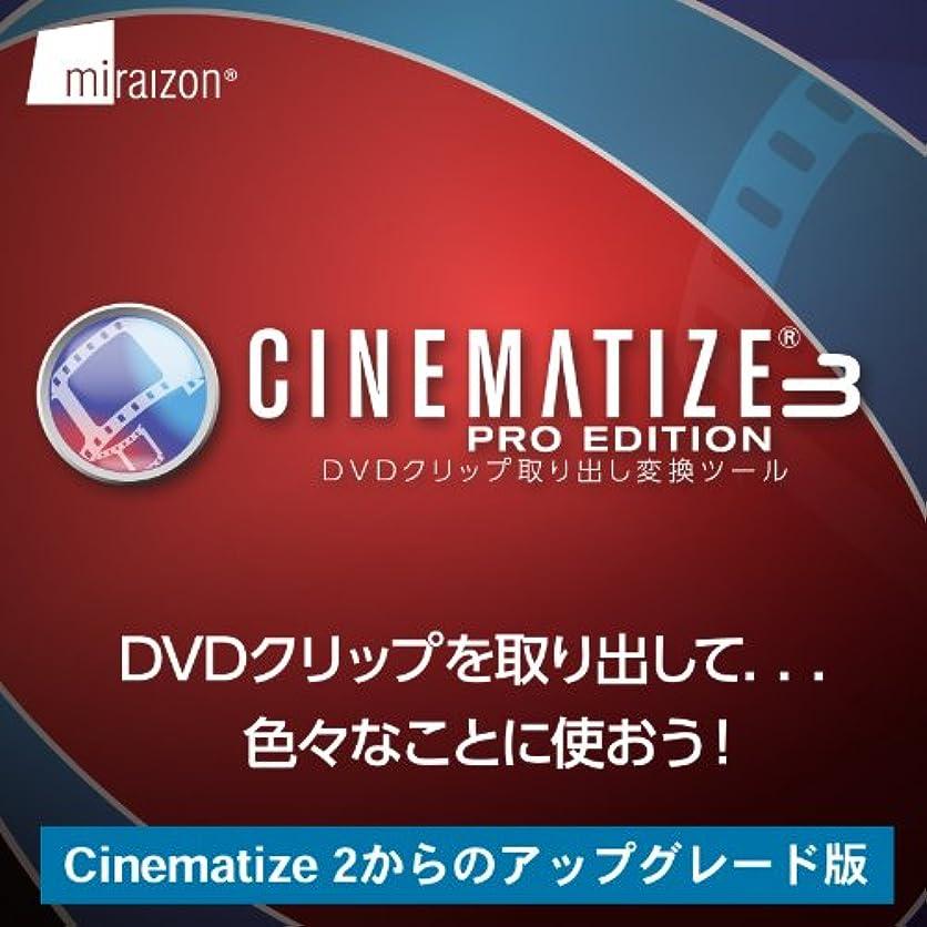 エジプト人代替案ベリCinematize 3 Pro 日本語版 Win アップグレード from Cinematize 2 [ダウンロード]