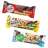ブルボン スローバー3箱セット ( チョコレート ・ チョコバナナ ・ 濃厚ココナッツミルク )