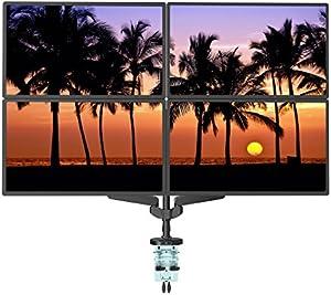 Loctek モニターアーム フルモーションガス圧式 液晶ディスプレイ アーム USB3.0ポート付き 10-30インチ対応 ホワイトD8W