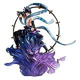 G.E.M.シリーズ remix NARUTO -ナルト- 疾風伝 うちはサスケ 雷神 約180mm PVC製 塗装済み完成品フィギュア
