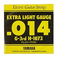 YAMAHA H1073 エレキギター用 バラ弦 3弦×6本