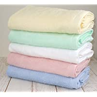マイヤーカラー バスタオル 5枚組 今治タオル 厚手 無地 カラー 高級 ボリューム 日本製 ホワイト ピンク ブルー イエロー グリーン