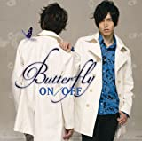 Butterfly♪ON/OFFのCDジャケット