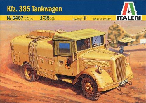 1/35 ドイツ Kfz.385 燃料補給車 38467 (タミヤ イタレリ 1/35 ミリタリーシリーズ 6467)