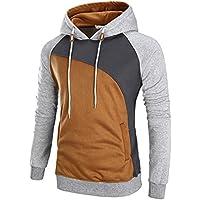 LANBAOSI Men's Slim Fit Hooded Sweatshirt Hoodie Casual Pullover Outwear