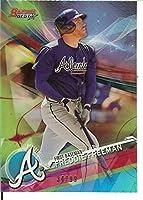 MLB 2017 ボウマンズ ベストリフレクター グリーン #5 フレディ・フリーマン 34/99 ブレーブス