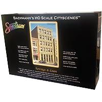 Bachmann Industries HO Scale Savings & Loan City Scenes Building Kit [並行輸入品]