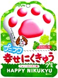 扇雀飴本舗 プニフワ幸せにくきゅうグミマスカット味 40g×6袋