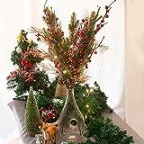 クリスマス飾り 松 果実 花束 クリスマス オーナメント 北欧 クリスマス 店舗 装飾 飾りつけ 3点セット