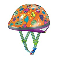 OGK KABUTO(オージーケーカブト) チャイルドメット PEACH KIDS モンスターオレンジ サイズ:47-51cm 幼児用