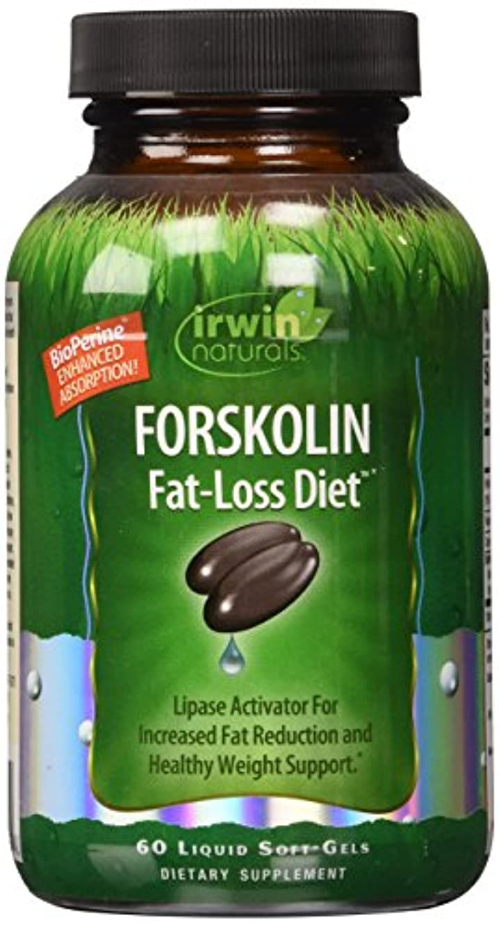 フェード民間有害Irwin Naturals Forskolin(フォルスコリン) Fat-Loss Diet 60 sgels