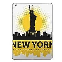 第5世代 iPad iPad5 2017年モデル スキンシール apple アップル アイパッド A1822 A1823 タブレット tablet シール ステッカー ケース 保護シール 背面 人気 単品 おしゃれ アメリカ ニューヨーク 外国 011620
