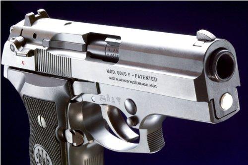 【WAスーパーリアルガン】WA ベレッタ M8045 クーガーF / カーボンブラックHW