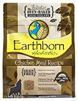 Earthborn Chicken Recipe Oven Baked Holistic Biscuits Grain Free Dog Treats 14oz