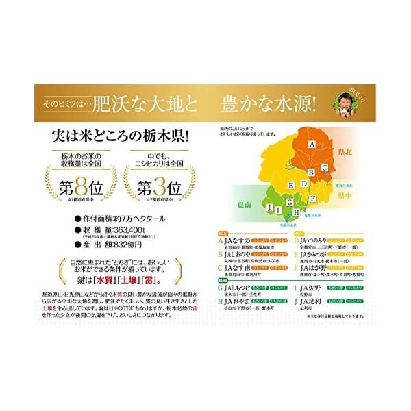 【精米】栃木県産 無洗米 コシヒカリ 平成27年産の紹介画像2