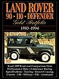 洋書「Land Rover 90 110 Defender 1983-94」ディフェンダー解説